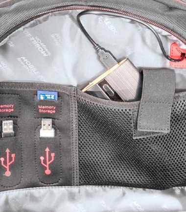 """Core Gaming Backpack w/Velcro Panel 17.3""""-22875"""