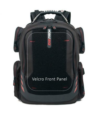 "Core Gaming Backpack w/Velcro Panel 17.3""-22876"