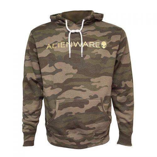 Alienware Camo Gold Hoodie