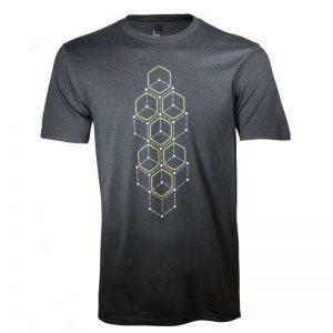 AWSSDS Alienware Dot Hex short sleeve t-shirt