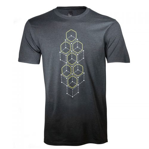 AWSSDS Alienware Dot Hex short sleeve t-shirt