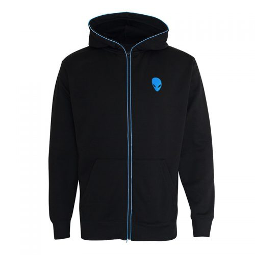 Alienware LightUp Hoodie Ice Blue Medium