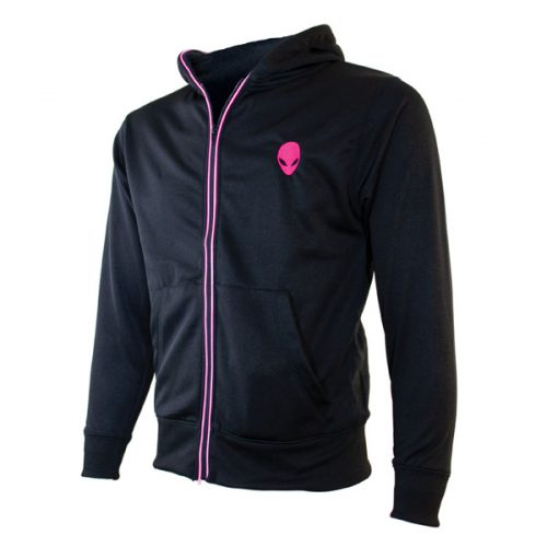 AW Lightup Zip Hoodie XSmall- Pink