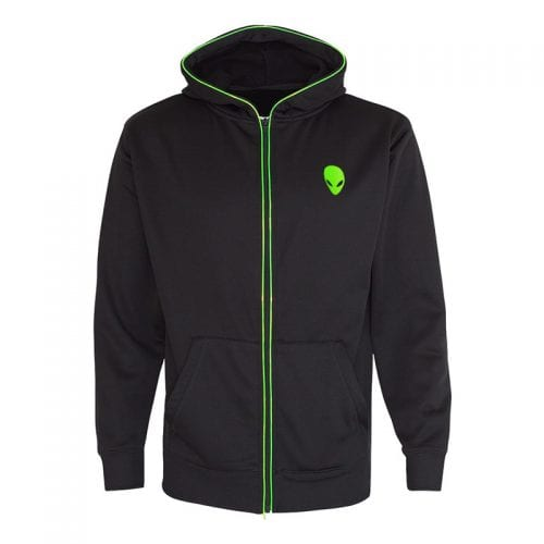 AW Lightup Zip Hoodie Small- Ice Green