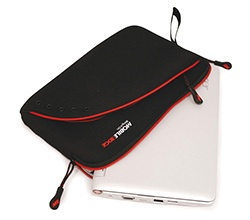 "Mobile Edge iPad / Tablet Sleeve 8.9"" - Black / Red"