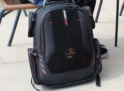 Core Gaming Backpack w/Velcro Panel 17.3″