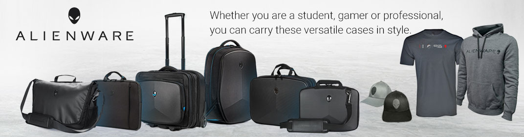 Alienware Collection, Whether you are a student, gamer or professional, you can carry these versatile cases in style.