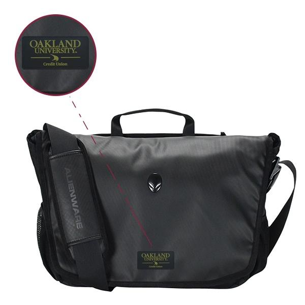 Alienware Vindicator 2.0 Messenger Bag (13″/15″/17″) - Sample Logo - Rubber Patch