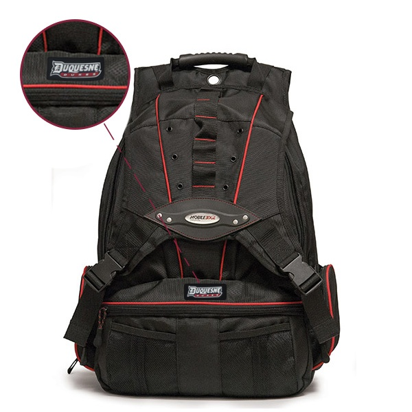 Premium Laptop Backpack - Sample Logo Rubber Patch