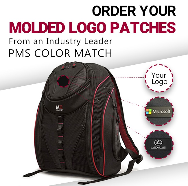 Order your molded logo patches