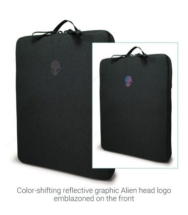 Alienware m Fabric Sleeve AWM17FSL with Reflection Graphic Front
