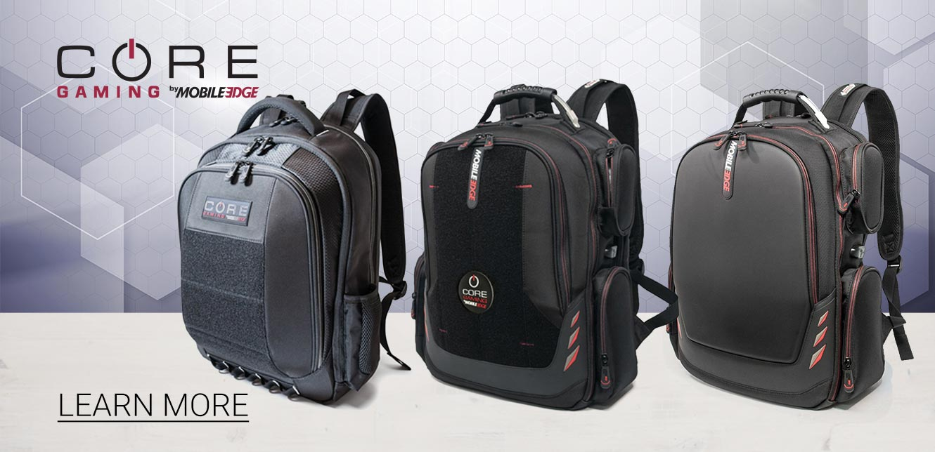 Mobile Edge CORE Gaming Laptop Cases