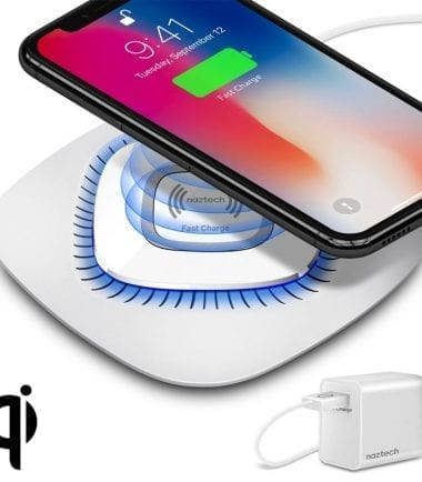 Power Pad Qi Wireless Fast Charger White