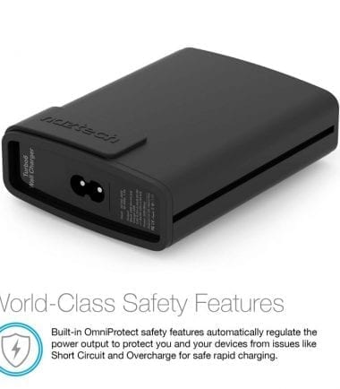 Wall Charger Turbo 6 USB World-Class Safety Features