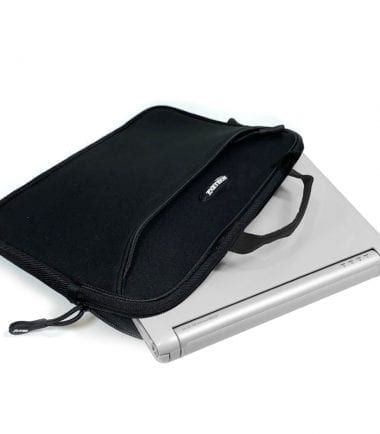 11.6 - 12 Chromebook SlipSuit Sleeve and laptop