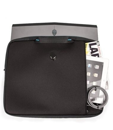 Alienware Vindicator 2.0 Neoprene Sleeves Store Additional Accessories