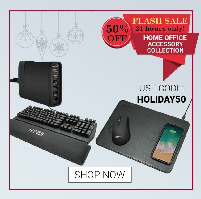 Flash Sale 50% Off - Gaming Gift Bundle Use Code: HOLIDAY50