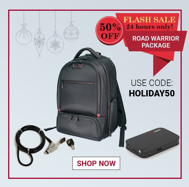 Flash Sale 50% Off - Road Warrior Bundle Use Code: HOLIDAY50