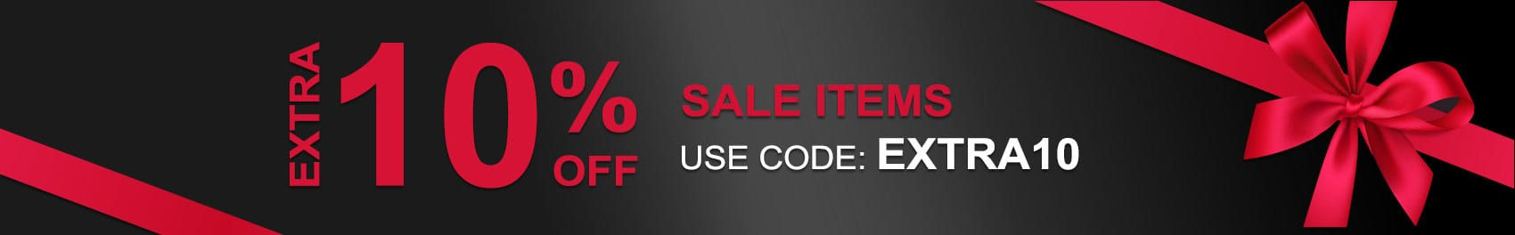 Extra 10% off on Sale Items-Use Code: EXTRA10 at checkout