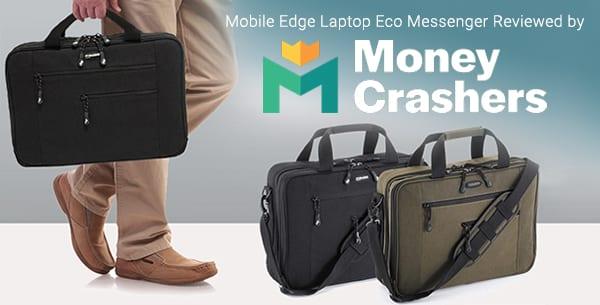 Mobile Edge ECO Laptop Messenger by Money Crashers